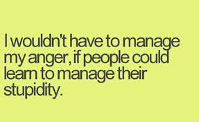 manage anger